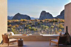 desert view suite, amangiri desert spa