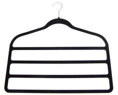 closet organization - i love this hanger for scarves