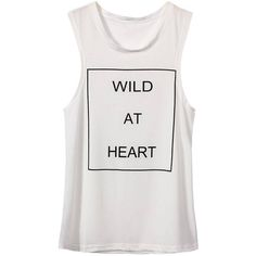 Yoins White Sleeveless Shirt with Letter Print (€11) ❤ liked on Polyvore featuring tops, shirts, tank tops, tanks, white, sleeveless tank tops, white tops, no sleeve shirt, white sleeveless top and print shirts