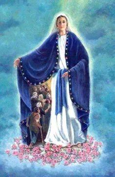Protégés sous le manteau de Marie