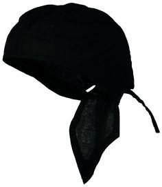 8ccde01064d BLACK Doo-Rag Skull Cap Solid Du-Bandana Motorcycle Helmet Liner Chemo  Head-Scarf