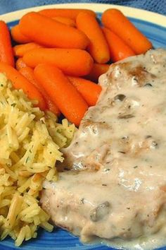 Awesome Baked Pork Chops ~ These chops remain moist and tender, and the sauce is to die for! You probably have all the ingredients in your kitchen to make this! Serve these chops over rice! (all recipes pork) Pork Chop Recipes, Meat Recipes, Crockpot Recipes, Dinner Recipes, Cooking Recipes, Recipies, Porkchop Recipes Crockpot, Cooking Time, Syrian Recipes
