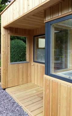 Siberian larch - Vastern Larch Cladding, Exterior Cladding, Wood Facade, Wood Siding, Cabin Design, House Design, Bungalow Conversion, Contemporary Garden Rooms, Timber Boards