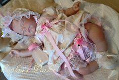 "NEW Reborn Baby Girl 21"" Real Lifelike Doll Pretty Sarah Sleeping Donna Rubert"