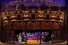 Don Giovanni. Teatro Real. Scenic design by Ezio Frigerio.