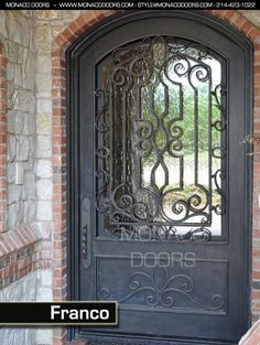 custom gates | Doors | Custom Iron Doors | Entry Doors | Custom Designs | Iron Gates ...