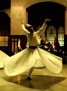 Dervish - no joke...I have to do a Dervish dance this weekend and I'm terrified :/