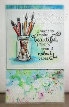 MIX64 - Beautiful Things by dini - Cards and Paper Crafts at Splitcoaststampers