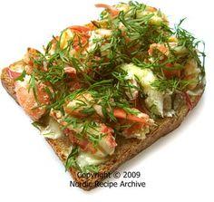 Crayfish toast