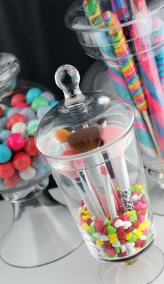 Cute but hate the candy, need to come up with something to put in the jar other then that, lavender?