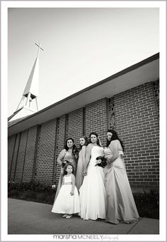 Sassy bridesmaids - wedding portraits Click here to see more: Wedding details - wedding shoes Click here to see more: marshamcneely.com... #weddingportraits, #bridesmaids, #buenaparkweddingphotographer