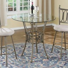 Chintaly Darcy Counter Height Pub Table - CTY2127