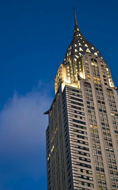 Chrysler Building in NYC at Dawn