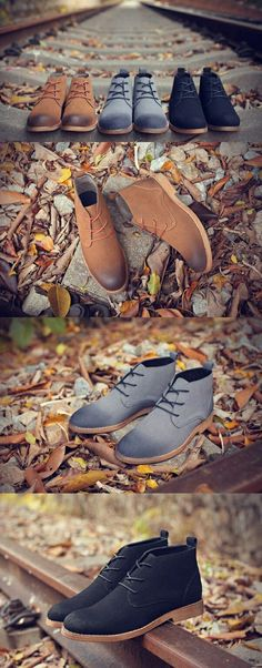 2017 Men's High Quality Creepers Casual Suede Boots Shoes Men Ankle Boots Desert Boots Male