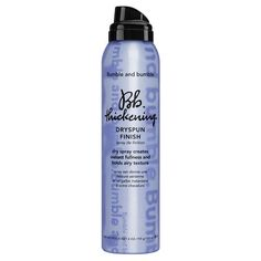 Bb. Thickening Dryspun Finish - Spray cheveux de Bumble and bumble sur Sephora.fr