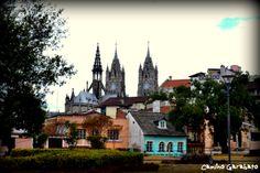 Fragmento de la ciudad de Quito, Ecuador