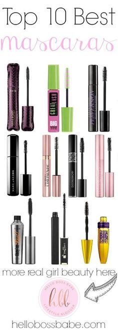 Top 10 Best Mascaras ·