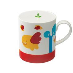 We Love Mugs 380ml Mug (Summer) By Camila Prada Cute Creatures, Our Love, Prada, Mugs, Tableware, Summer, Gifts, Stuff To Buy, Dinnerware