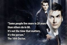 """For decades, """"Doctor Who"""" has been one of the shows that managed to help people escape reality and touch the stars. However, it is not only its plot that ensnared its fans, but also the words of wisdom hidden in its dialogue. Find six impressive #quotes from Doctor Who at: http://impressivemagazine.com/2013/07/29/finding-inspiration-in-unique-places-doctor-who-quotes/"""