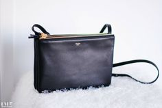 ec5b1e482548 celine trio bag in black Celine Bag