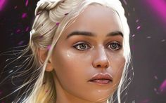 Wallpapers Emilia Clarke Daenerys Targaryen Game of Thrones Face Contact . Emilia Clarke Daenerys Targaryen, 4k Desktop Wallpapers, Hd Wallpaper, Game Of Thrones, Dual Monitor Wallpaper, 4k Background, Beautiful Fantasy Art, Original Wallpaper, Mother Of Dragons