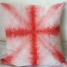 Criss-Cross Folding Technique Tie Dyed Red & white Cushion Covers Interior Home Sofa Cushions Christmas Gifts Her Shibori Gypsy Red Pillows Red Pillows, White Cushions, Boho Pillows, Cushions On Sofa, Throw Pillows, Christmas Ties, Christmas Gifts For Her, Sofa Covers, Pillow Covers