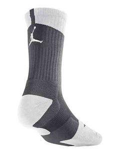 Calcetines Air Jordan Dri-fit Crew Gris-blanco, diseñados para la mejora en el rendimiento http://www.basketspirit.com/jordan-marca-camisetas-complementos-zapatillas-balones