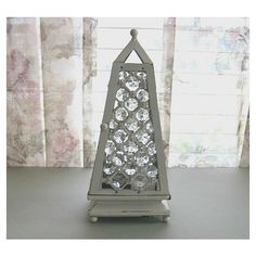 Glass Candle Holder Metal Candle Holder White Candle Holder Votive... (£26) ❤ liked on Polyvore featuring home, home decor, candles & candleholders, white glass candles, glass candlestick holders, glass tealight holders, glass tea light holders and glass candleholders