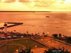 Atardecer En La Bahía, Buenaventura #colombia