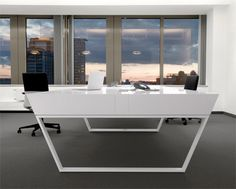 kenzo air 42 Gorgeous Desk Designs for any Office