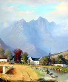 """Andre has produced 14 painting lessons, each dealing with a certain subject, like """"All About Colour"""" , """"Painting Landscapes"""" , """"Painting Seascapes"""" etc."""