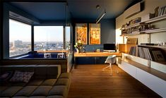 Green Apartment by Special Project Venediktov - InteriorZine