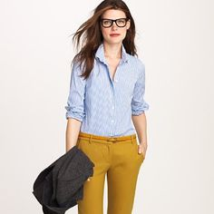 What's with the hipster glasses? I like the shirt though.