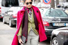 Esther Quek...Pink Does Not Stop #3...Paris & Milan