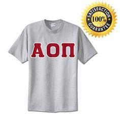 #AlphaOmicronPi Sorority Standard Lettered T-Shirt | Something Greek | #AOPi #sororityclothing #standards #somethinggreek