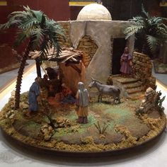 Cribs, Catholic, Christmas, Painting, Saints, Christmas Manger, Painted Rocks, Garden Decorations, Ornaments
