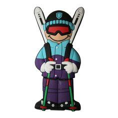 USB esquiador