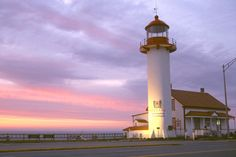Matane Lighthouse  (Phare de Matane), Matane, Québec, Canada - part of my childhood memories. . .
