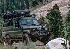Land Cruiser 70 Series, Land Cruiser 200, Toyota Land Cruiser, Adventure Campers, Off Road Adventure, Defender Camper, Land Rover Defender, 4x4 Wheels, Toyota 4x4