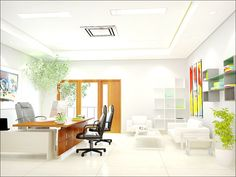 Interior Decorating Ideas for an Office