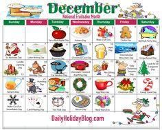Upload your free December Holiday Calendar!