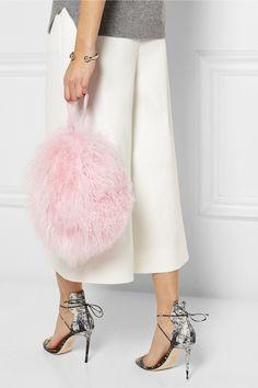 Finds+ Charlotte Simone Bon-Bon shearling shoulder bag $245
