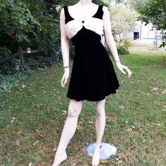 80s Prom Dress  Vintage Dress  80s Dress  Black by Susan Roselli for VIJACK #gottagovintage1