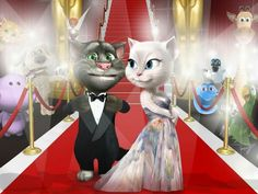 godong and gomez are ready to hit the Oscars red carpet!