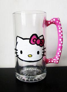 Hello Kitty mug- cute!