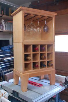 Wine Buffet Server - by dragondncr @ LumberJocks.com ~ woodworking community