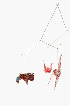 Product crush: Baby Zoo Origami Mobile | NordicDesign