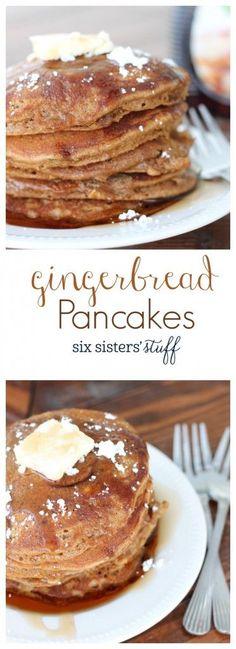 Christmas Morning Breakfast, Fall Breakfast, Breakfast Pancakes, Breakfast Recipes, Pancake Recipes, Pancake Ideas, Pancake Dessert, Mexican Breakfast, Pancakes Easy