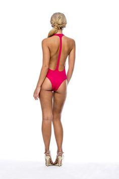 Peixoto Spring 2015 Red Flamingo One PIece  #2015 #2015swim #fashion2015 #swimwear