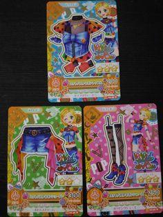 "Trading card of Japanese Idol Animation ""AIKATSU"" Lot Baltic coordinate"